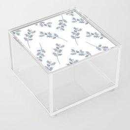 Branches in Blue Acrylic Box