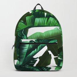 tropical banana leaves pattern 2 Backpack