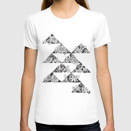 botanical triangles T-shirt