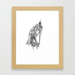 Affliction Gargoyle Framed Art Print