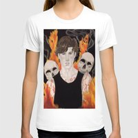 stephen king T-shirts featuring Stephen by Alice Rachel