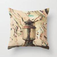 lantern Throw Pillows featuring Lantern by Shaun Lowe