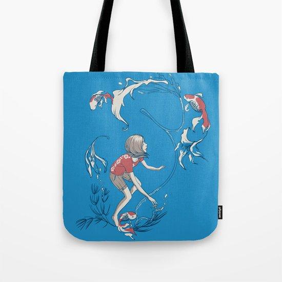 FISH AND WATER Tote Bag