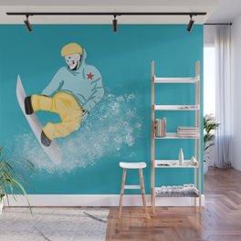 Fast Eddie Wall Mural