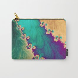 Coloured Smoke Trails Carry-All Pouch