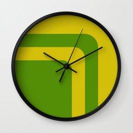 Retro background #society6 #decor #buyart #artprint Wall Clock