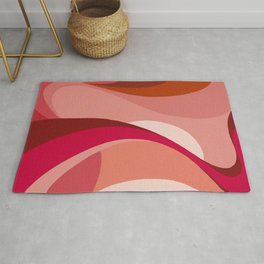 casa organica #5 abstract space illustration Rug