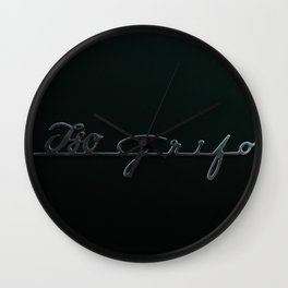 Iso Grifo Wall Clock
