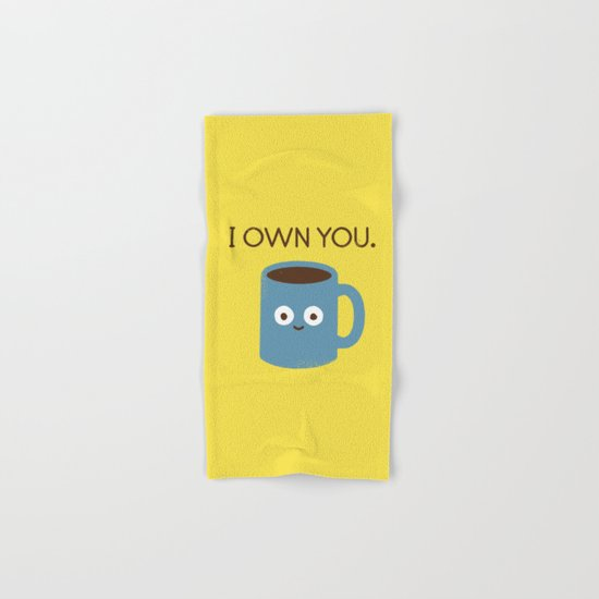 Coffee Talk Hand & Bath Towel