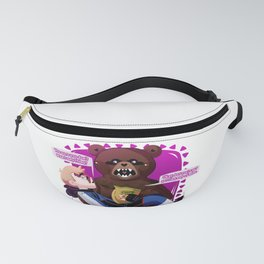Scare Bear + Hank Venture Fanny Pack