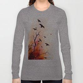 Birds flying Long Sleeve T-shirt