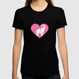 Heart Elephants | Love Elephants T-shirt