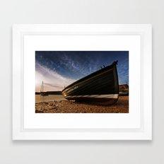 Boat Harbour Framed Art Print