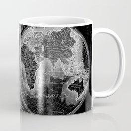 Black and White World Map (1795) Inverse 2 Coffee Mug