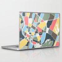 texas Laptop & iPad Skins featuring Austin Texas. by Studio Tesouro