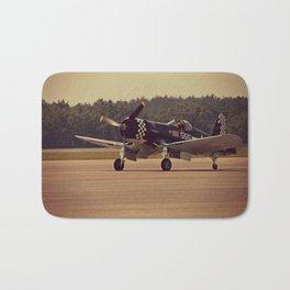 Air Craft - WWII-era fighter, Corsair Bath Mat