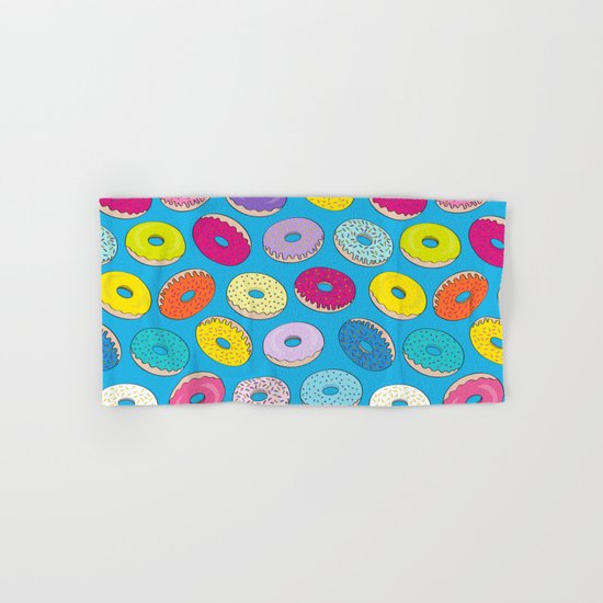 Donuts In The Sky By Everett Co Hand & Bath Towel