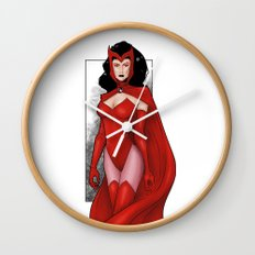 Scarlet Witch Wall Clock
