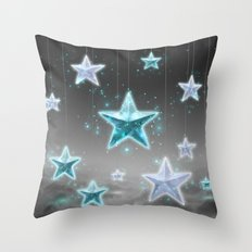 Make a Wish • Stars in the Sky (Shine Bright Series) Throw Pillow