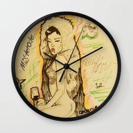 riri x ode Wall Clock