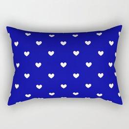 Heart Shape Print III Rectangular Pillow