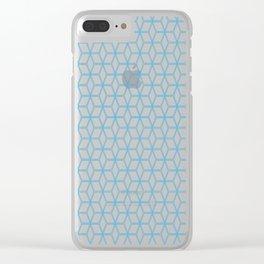 Hive Mind Blue #108 Clear iPhone Case