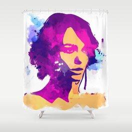 keira Knightley Shower Curtain
