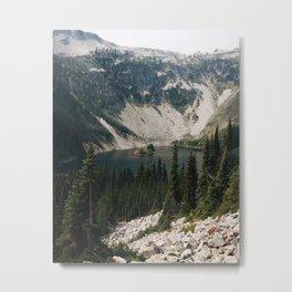 Lake Ann in North Cascades, WA Metal Print