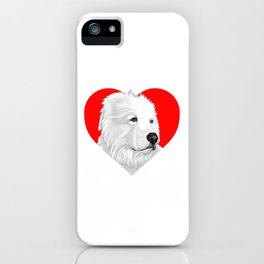 Great Pyrenees iPhone Case
