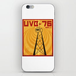 ubv-76 the buzzer iPhone Skin