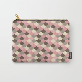Strawberry Mouse Fish Scale Pattern Carry-All Pouch