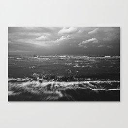 Evening sea Canvas Print