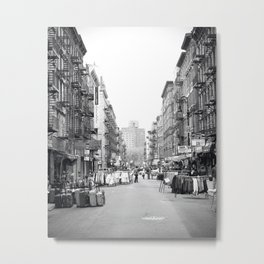 Lower East Side Market Metal Print