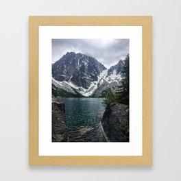 Colchuck Lake Framed Art Print