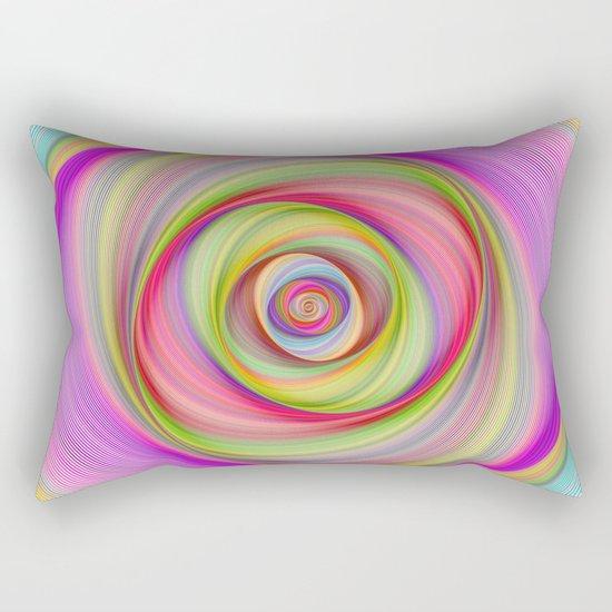 Magnetic storm Rectangular Pillow