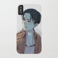 levi iPhone & iPod Cases featuring Levi by sushishishi