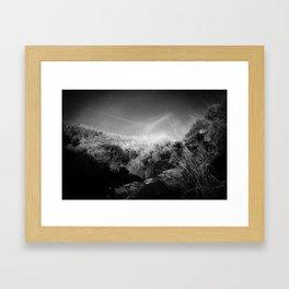 Infrared Valley Framed Art Print