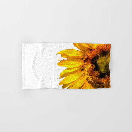 Simply a sunflower Hand & Bath Towel