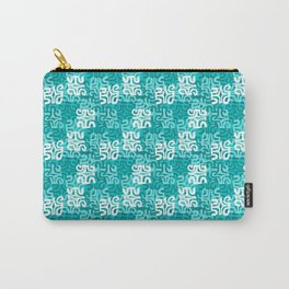 Swanky Mo Teal Carry-All Pouch