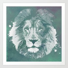Lion's mark Art Print
