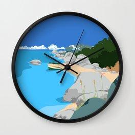 Domwe Island Wall Clock
