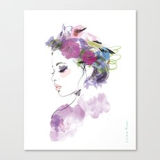 Like a bird Canvas Print