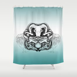 Skull Composition Shower Curtain