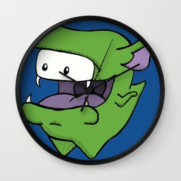 Benny the Monster Wall Clock