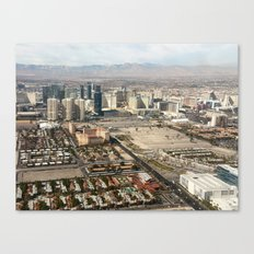 Leaving Las Vegas 2 Canvas Print