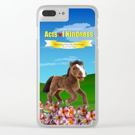 Pono the Polo Pony Clear iPhone Case