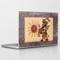 et Laptop & iPad Skins featuring Et Peyum by BohemianBound