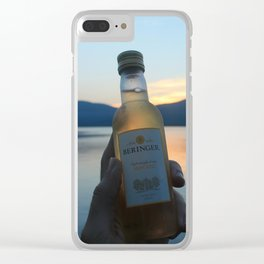 Drinks on the Lake Clear iPhone Case