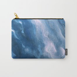 In the Company of Myself: Abstract #3 Carry-All Pouch