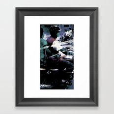 Retrollage 5.. Framed Art Print